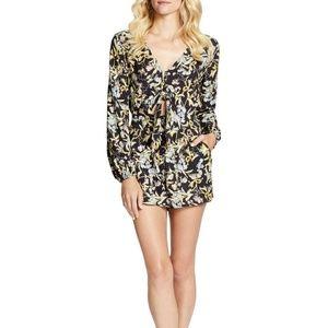 NWT Jessica Simpson 'Phillipa' floral romper